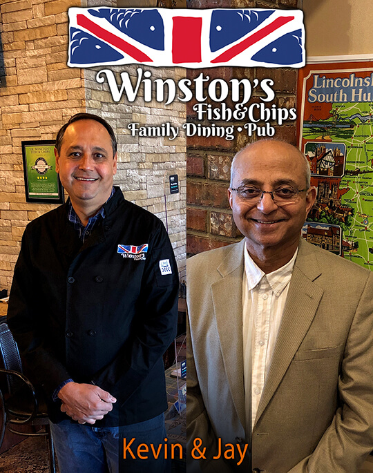 Winstons Fish and Chips Owners